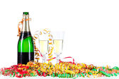 Festive champagne — Stock Photo