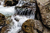 Horský potok — Stock fotografie