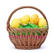 Eggs in Easter Basket — Stock Photo #5230427
