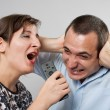 Stock Photo: Domestic argument
