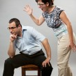 Domestic argument — Stock Photo