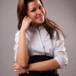 Young businesswoman — Stock Photo #3999017