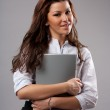 Young businesswoman — Stock Photo #3999021