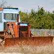 Rusty bulldozer - Photo