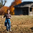 Boy playing outdoor — Stock Photo #4169382
