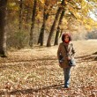 Young lady outdoor — Stock Photo
