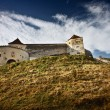 Rasnov fortress in Romania — Stock Photo