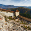 Rasnov fortress in Romania — Stock Photo #4208208