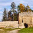 Stock Photo: Rasnov fortress in Romania