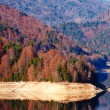 Stock Photo: Vidraru Lake in Romania