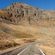 Stock Photo: Transfagarasroad in Romania