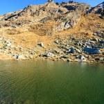 Balea Lake in Romania — Stock Photo #4254090