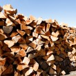 Stack of firewood — Stock Photo #4254099