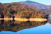 Vidraru Lake in Romania — Stock Photo