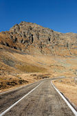 Transfagarasan road in Romania — Stock Photo