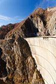 Vidraru Lake dam — Stock Photo