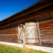 Old countryside barn in Romania - see the whole series - Stock Photo