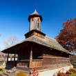 Romanian wooden church — Stockfoto
