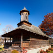 Romanian wooden church — Foto de Stock