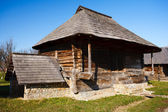 Old countryside barn in Romania - see the whole series — Foto Stock