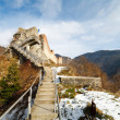 Dracula's fortress at Poienari, Romania — Stock Photo