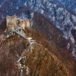 Royalty-Free Stock Photo: Dracula\'s fortress at Poienari, Romania