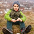 Cute kid outdoor — Stock Photo #4599061