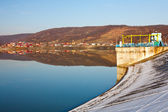 Budeasa, Arges - barrage lake in Romania — Stock Photo