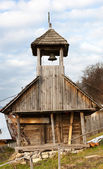 Corbii De Piatra monastery in Romania - the belfry — Stock Photo