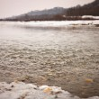Foto Stock: River in winter
