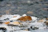 Frozen stones — Stock Photo