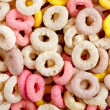 Colorful ring cereals — Stock Photo