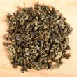 Macro of Jiaogulan tea dried leaves - Stock Photo