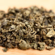 macro of jiaogulan tea dried leaves — Stock Photo