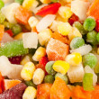 Frozen vegetables — 图库照片