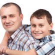 Happy father and son — Stock Photo #5132310