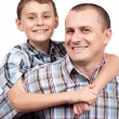 Happy father and son — Stock Photo #5132312