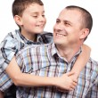 Happy father and son — Stock Photo #5132314