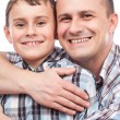 Royalty-Free Stock Photo: Father and son