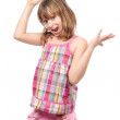 Cheerful little girl — Stock Photo #5285171