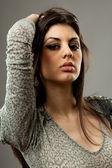 Beautiful hispanic woman — Stock Photo