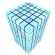 Cube structure — Stock Photo