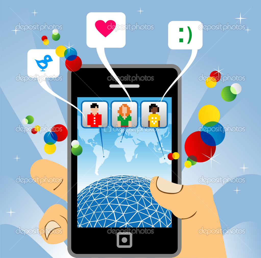 Number of U.S. smartphone social network users 2014-2020