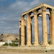 Temple of zeus — Stock Photo