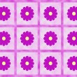 Purple flower power — Stock Photo