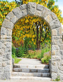 Stone archway — Stock Photo
