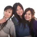 Young Asian girls — Stock Photo