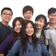 Young group — Stock Photo