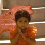 ������, ������: Baby with Umbrella