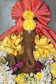 Irdenen idol von ganesha — Stockfoto